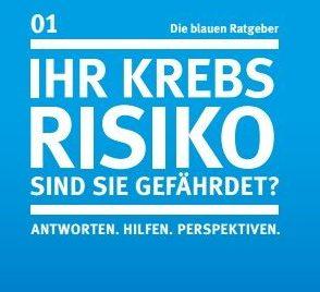 deutsche krebshilfe die blauen ratgeber